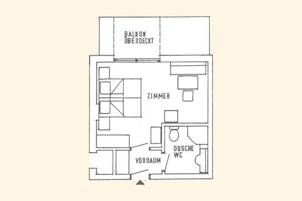 Doppelzimmer im Hotel Seehof am Längsee