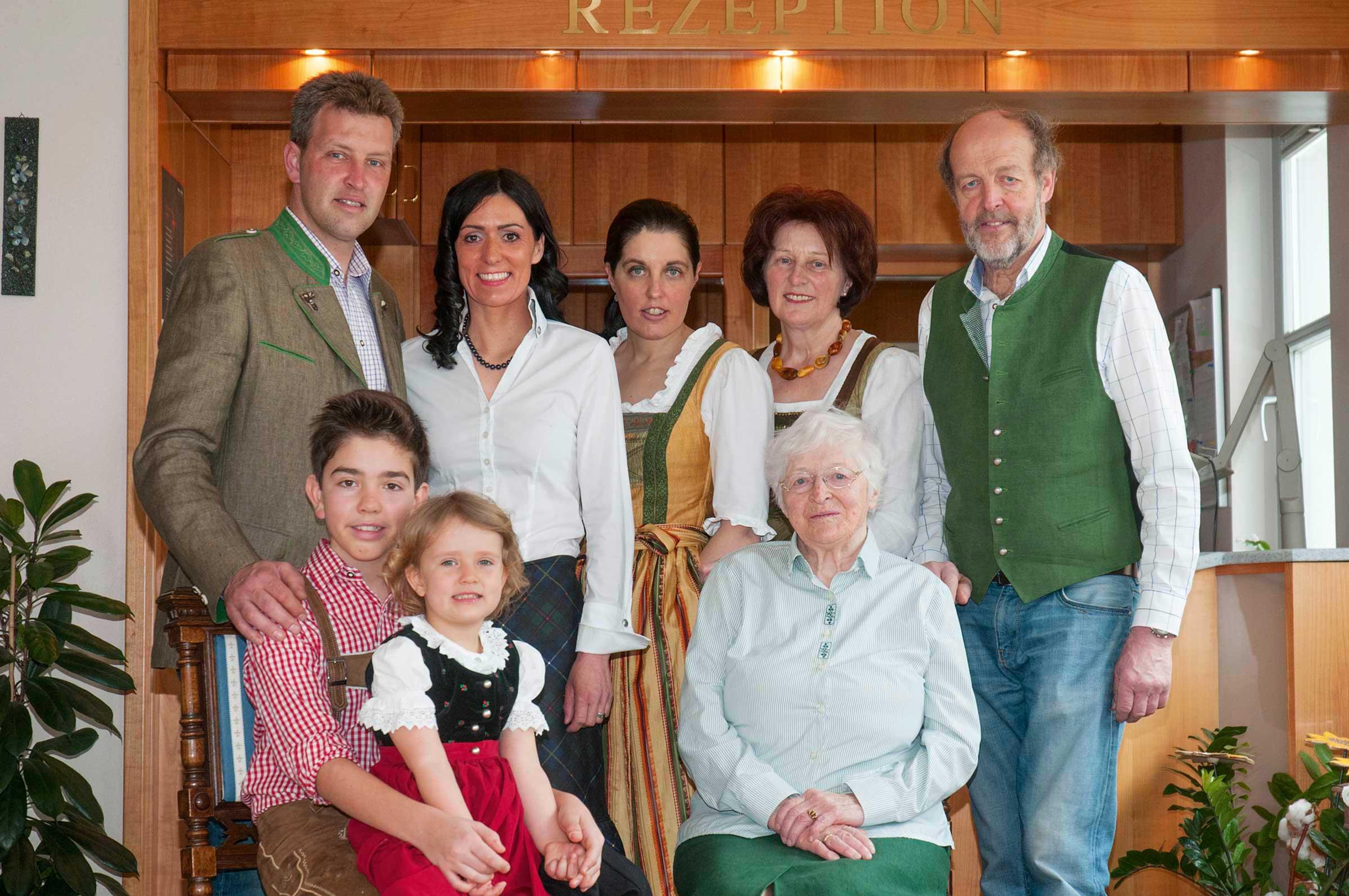 Familie Schratt am Längsee