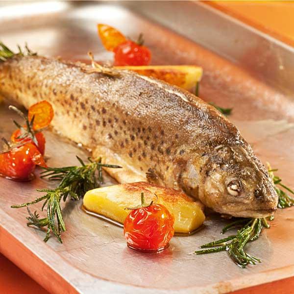 Fischgerichte im Seehof am Längsee in Kärnten
