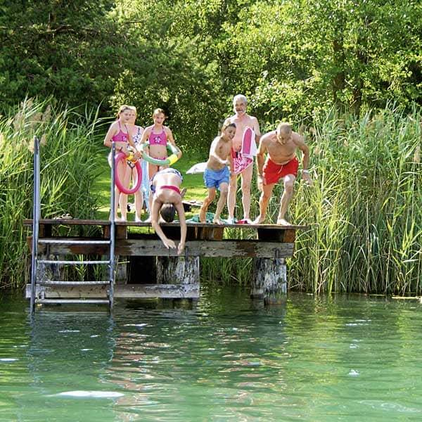 Badeurlaub am Längsee in Kärnten