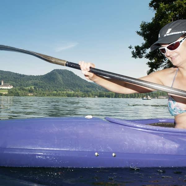 Wassersport am Längsee in Kärnten